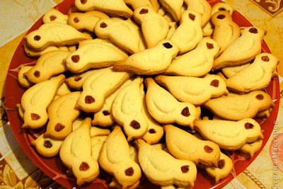 печенье птички
